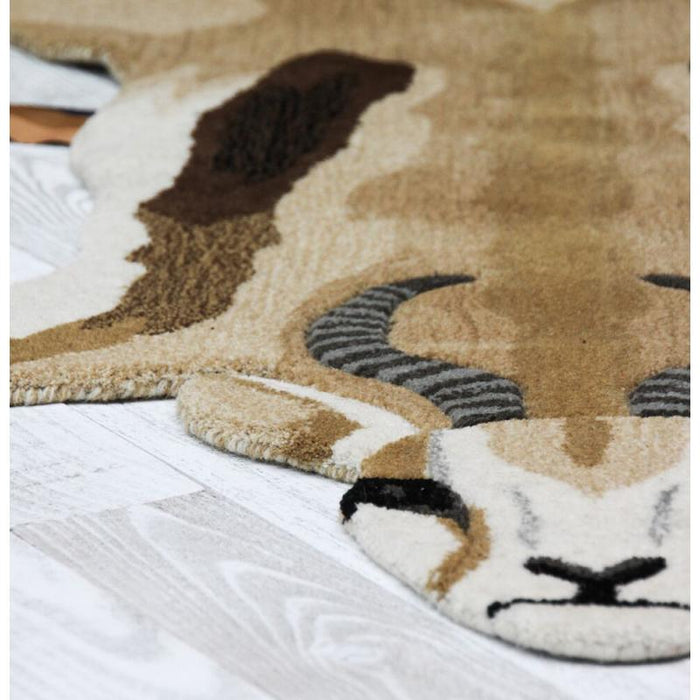 Jumpy Springbok Animal Rugs
