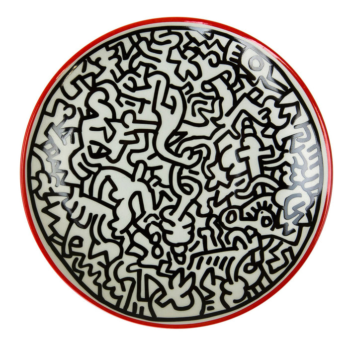 "Keith Haring ""Untitled"" Porcelain Plate (8.23""⌀)"