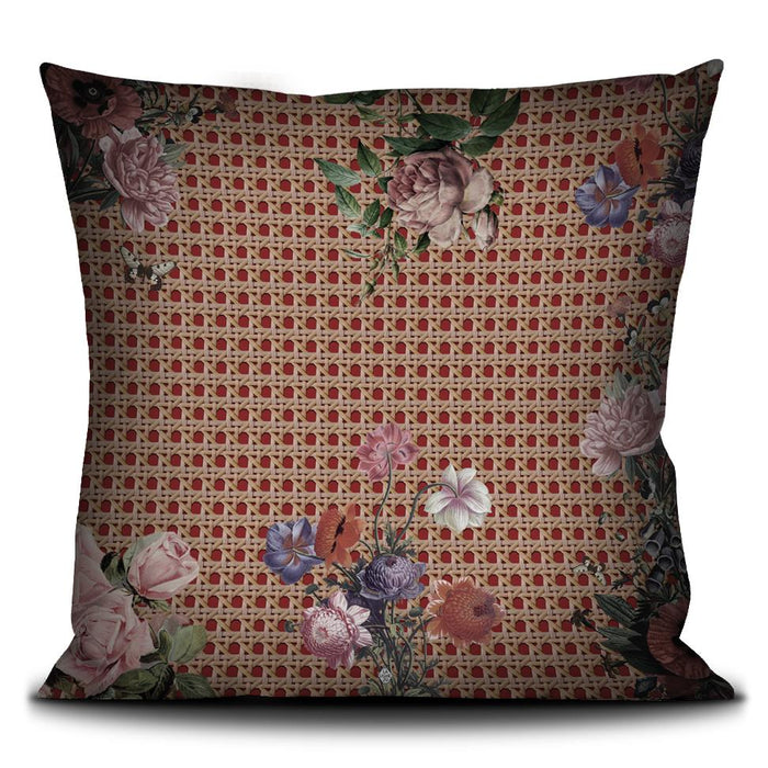 La Fessee French Velvet Pillow