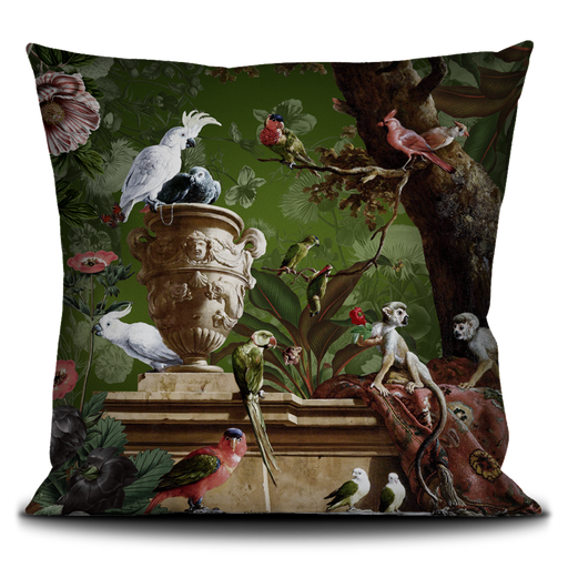 La Menagerie French Velvet Pillow