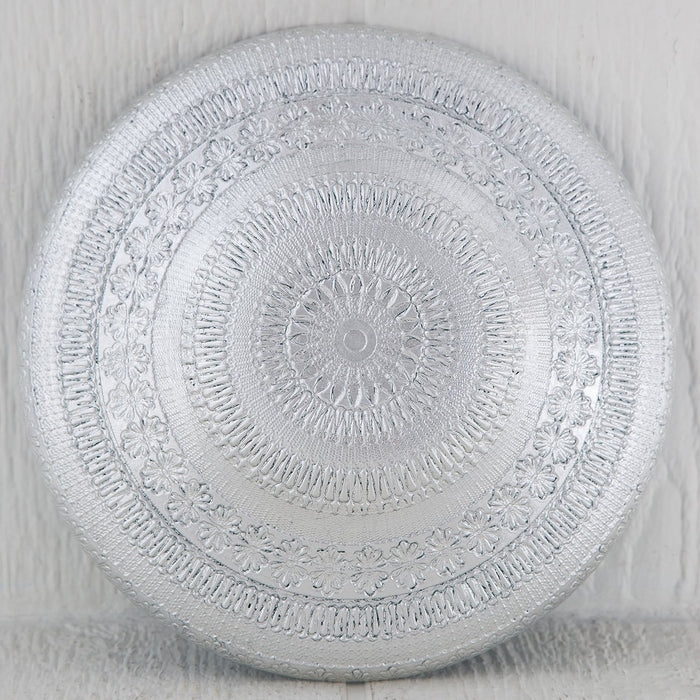 Lace Cast Glass Bowl (Medium)