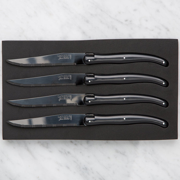 Laguiole Black Knife Set (4 piece)