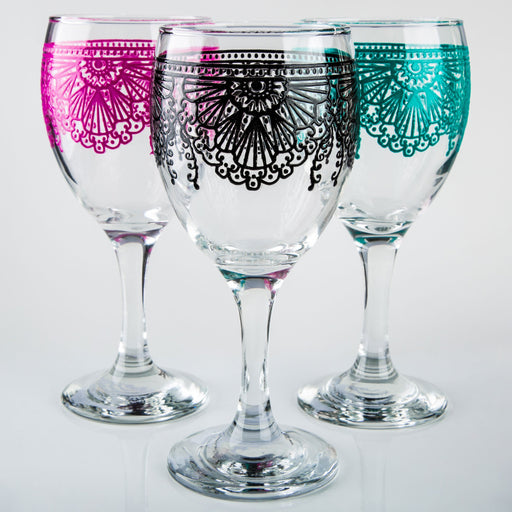 Lalla Moroccan Wine Glass