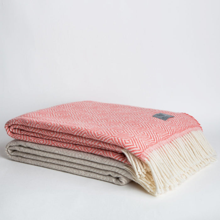 Lamb Wool Throw Blankets