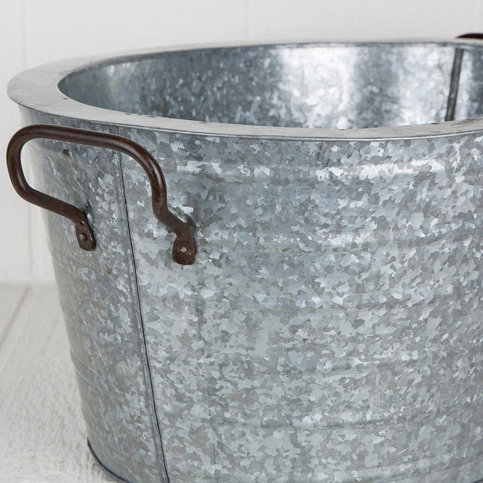 Large Copper Party Ice Bucket