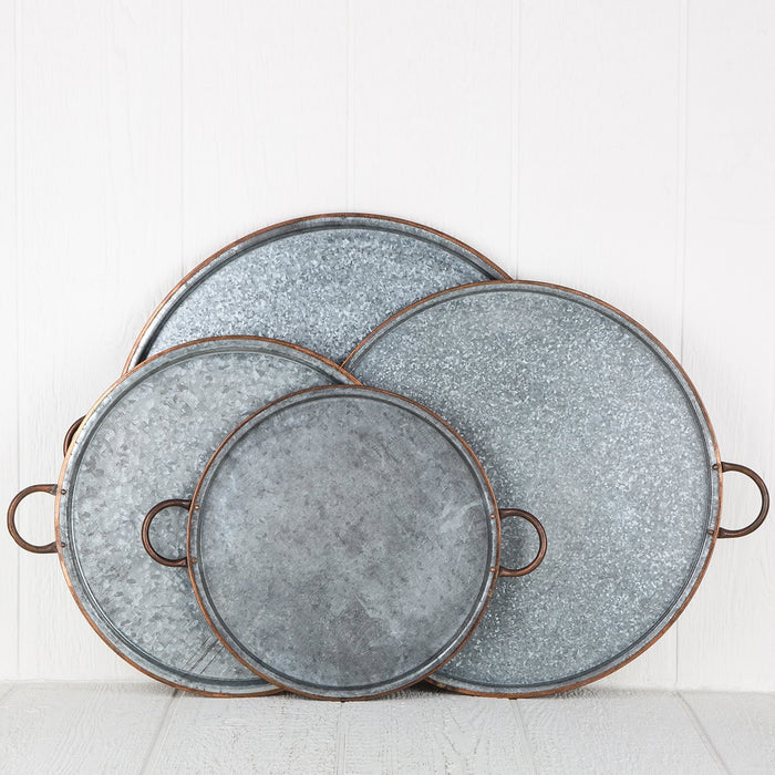 Large Copper Serving Tray