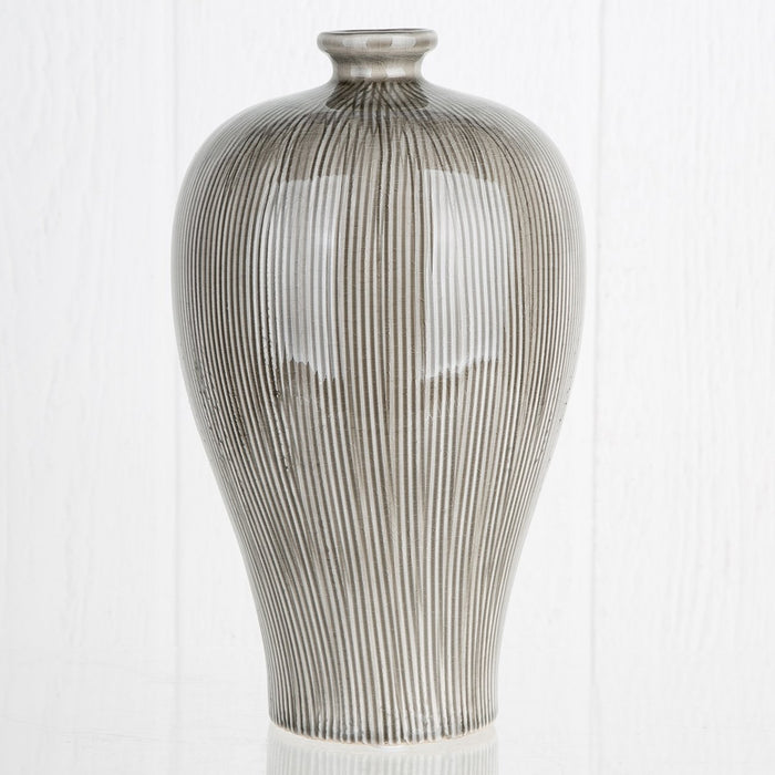Large Grey Meji Vase
