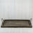 Large Rectangle Distressed Wood Serving Tray