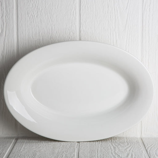Large White Serving Dish