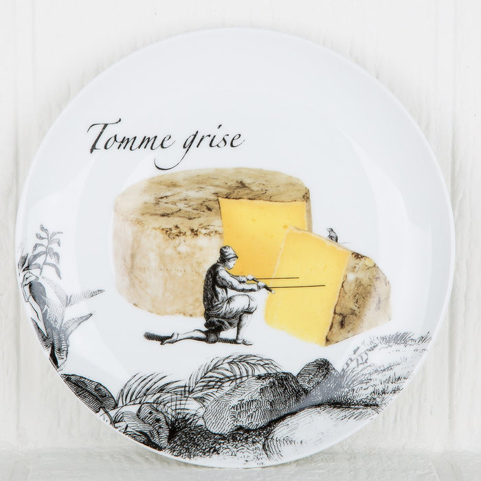 Les Fromage Cheese Plates (Set of 6)