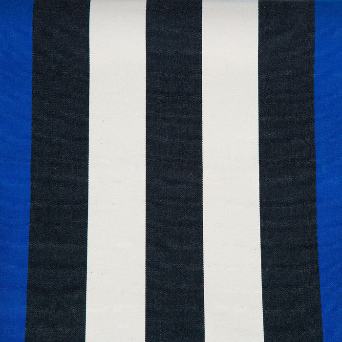 Les Toiles Du Soleil Blue Striped Deck Chair
