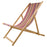 Les Toiles Du Soleil Tom Black Multi Deck Chair