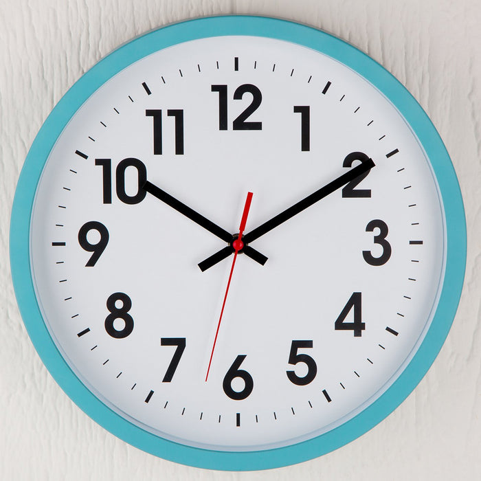 Light Blue Chelsea Wall Clock