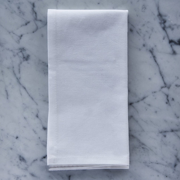 "Light Classic Cotton Single Stitch Napkins (17"")"
