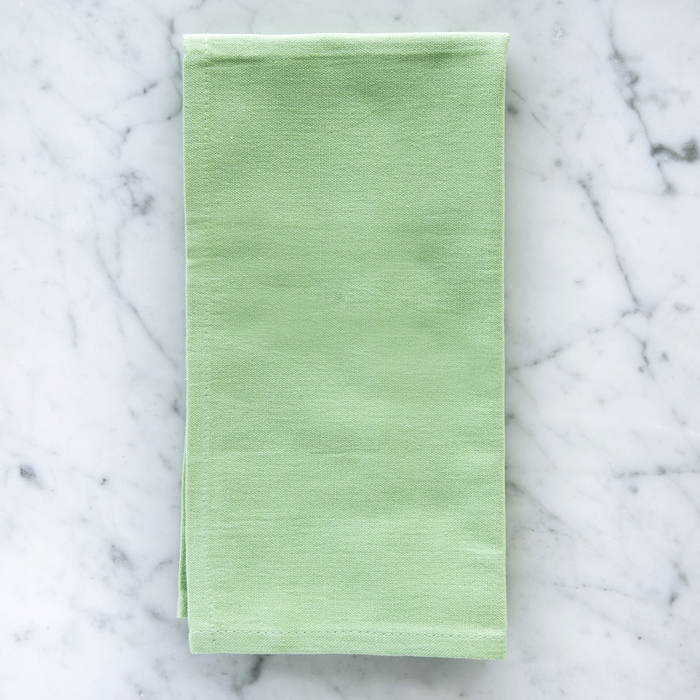 "Light Green 100% Soft Cotton Single Stitch Napkin (18"")"
