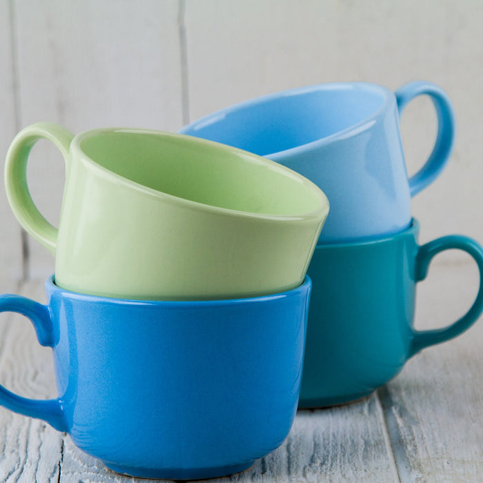 "Light Green Ceramic Alfa Mug (4.375""⌀)"