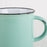 "Light Green Ceramic ""Tinware"" Mug"
