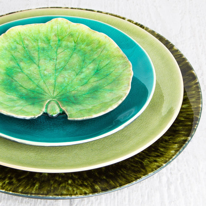 Light Green Forest Dinner Plate