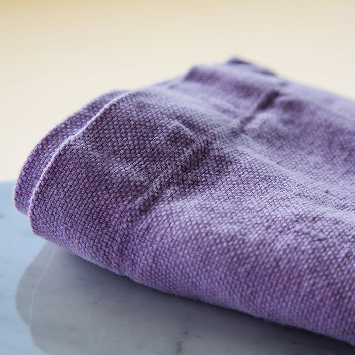 "Lilac Crisp & Heavy Weight Pure 100% Linen Audimas Napkin (20"")"