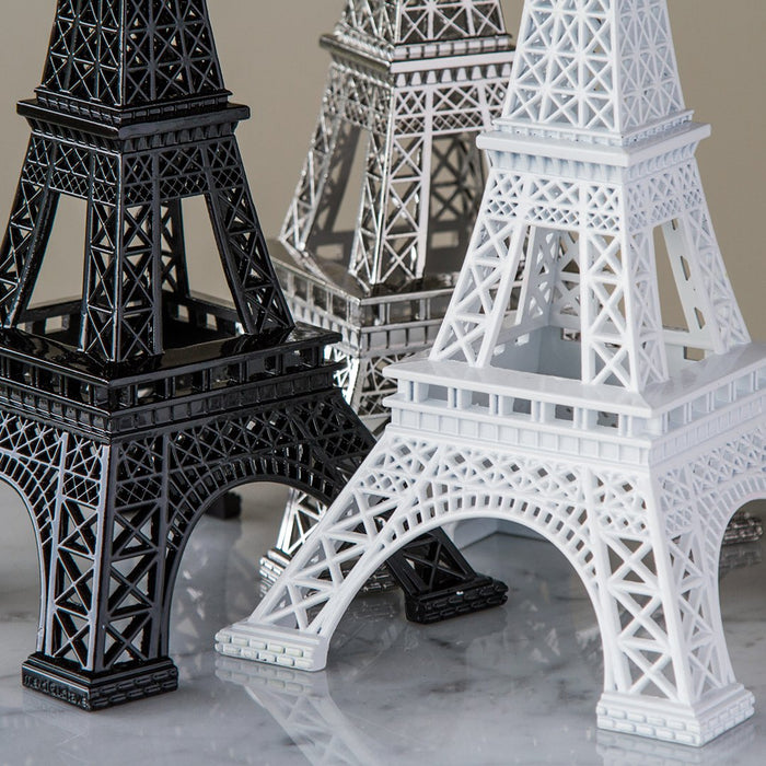 *Limited Edition White Authentic Eiffel Tower Statue