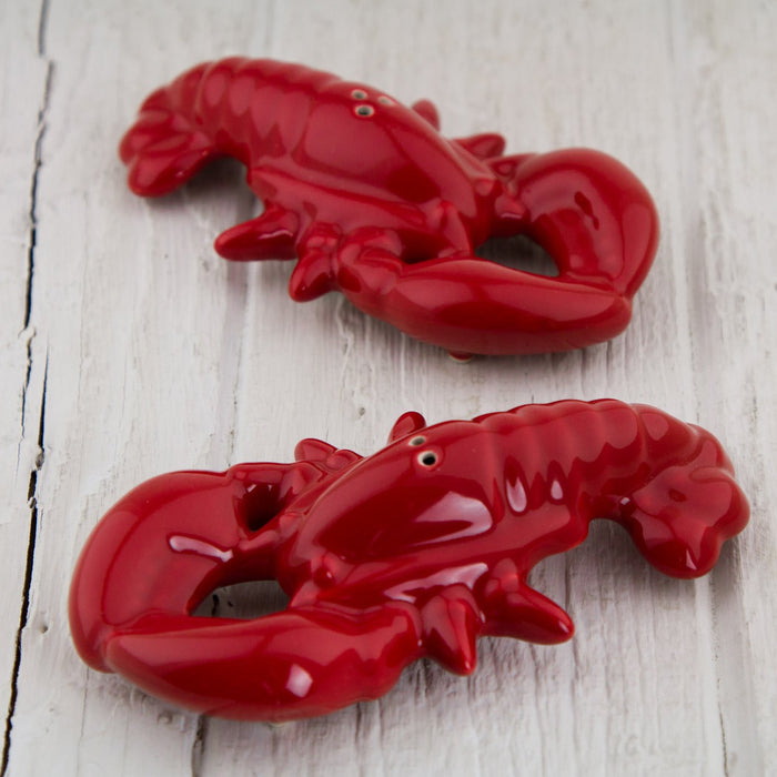 Lobster Salt and Pepper Shakers