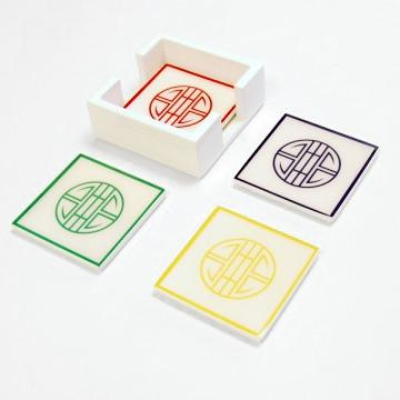 Longevity Coaster Set of 4