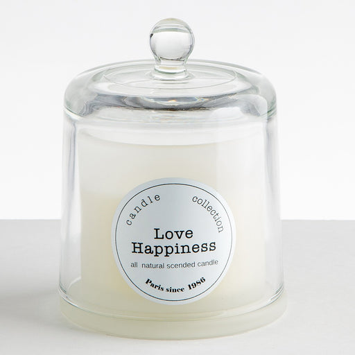 Love Happiness Luxury Scented Candle (85hr)
