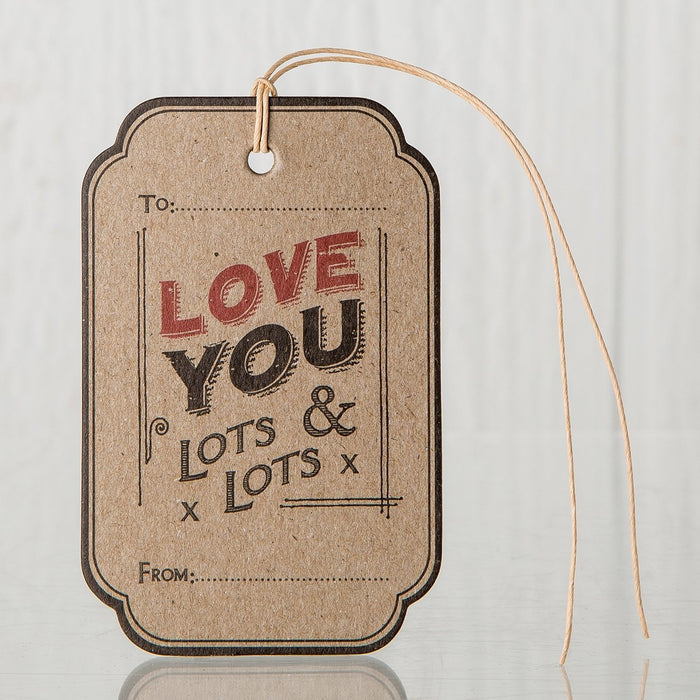 Love You Lots Hanging Tag