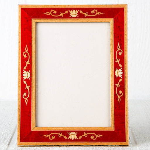 "Luigi Red Picture Frame (4x6"")"