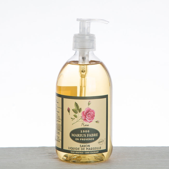 Marius Fabre Rose Liquid Soap