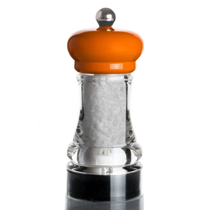 Marlux Salt Grinders with Lacquered Beech Wood Top (with salt)
