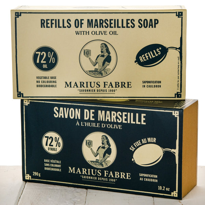 Marseilles Brass Wall-mount Rotating Soap Holder with Soap (290g)