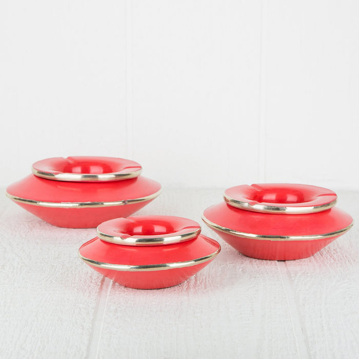 Medium Coral Pink Tadel Ashtray