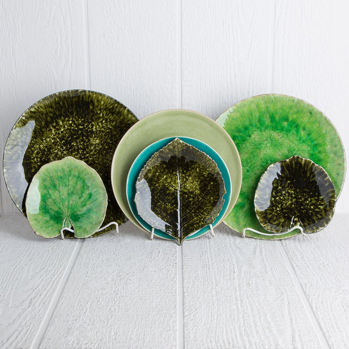 Medium Green Forest Charger Plate