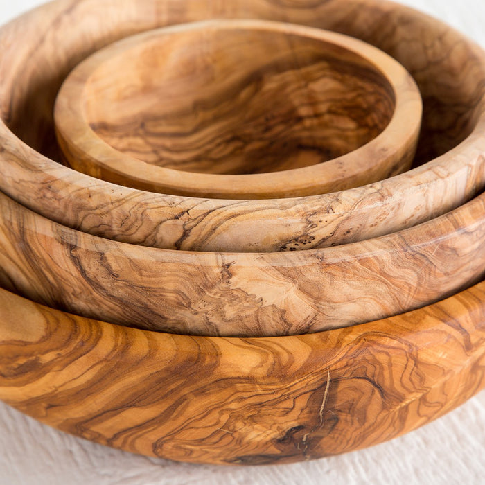 Medium Olive Wood Salad Bowl
