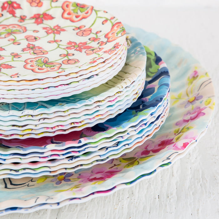 Medium Paris Market Melamine Plates
