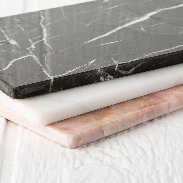Medium White Marble Rectangular Board