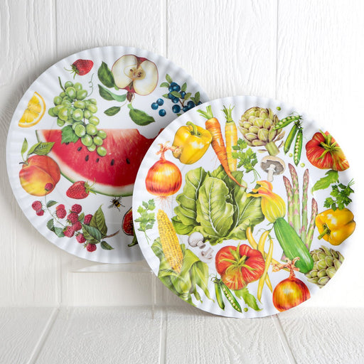 Melamine Fruit and Vegetable Serving Plates