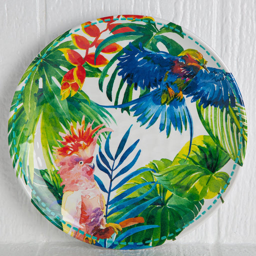 Melamine Tropical Dinner Plate