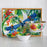 Melamine Tropical Salad Plate