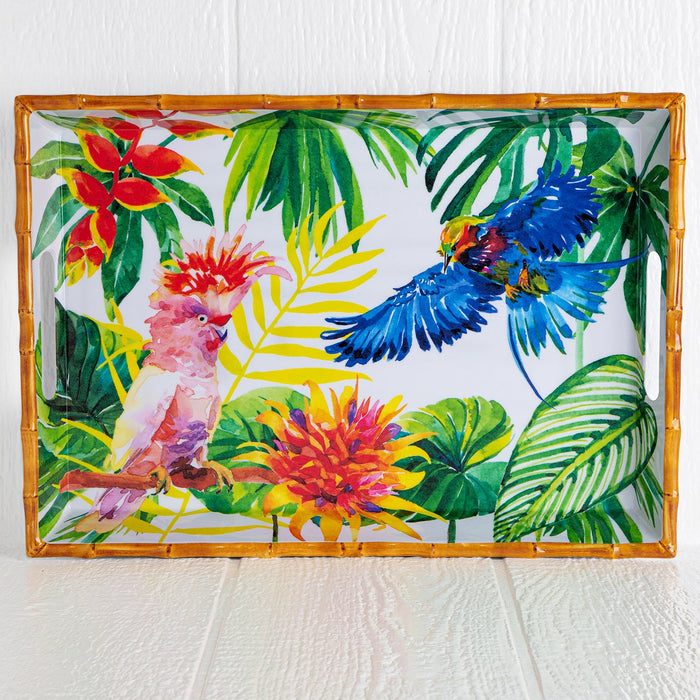 Melamine Tropical Serving Tray