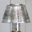 Mercury Glass Lamp Candle Holder with Shade