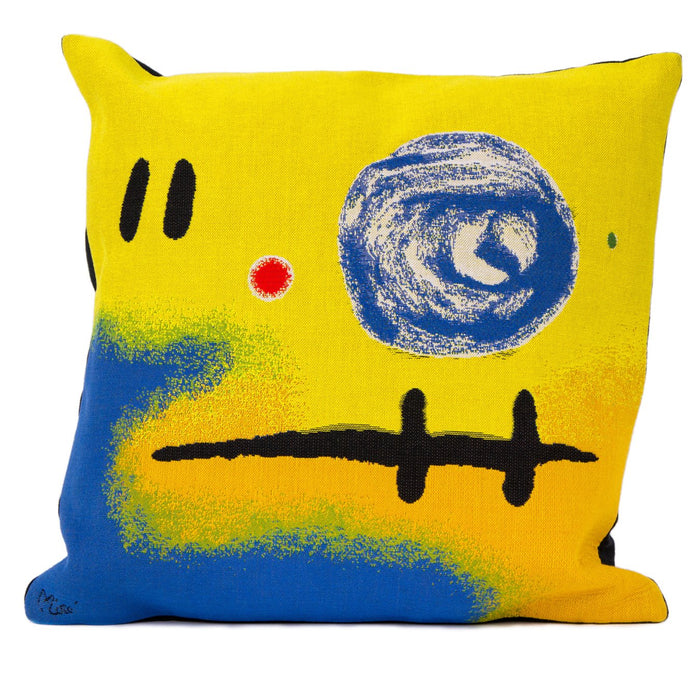 "Miro 5+2=7 Decorative Pillow (20"" x 20"")"