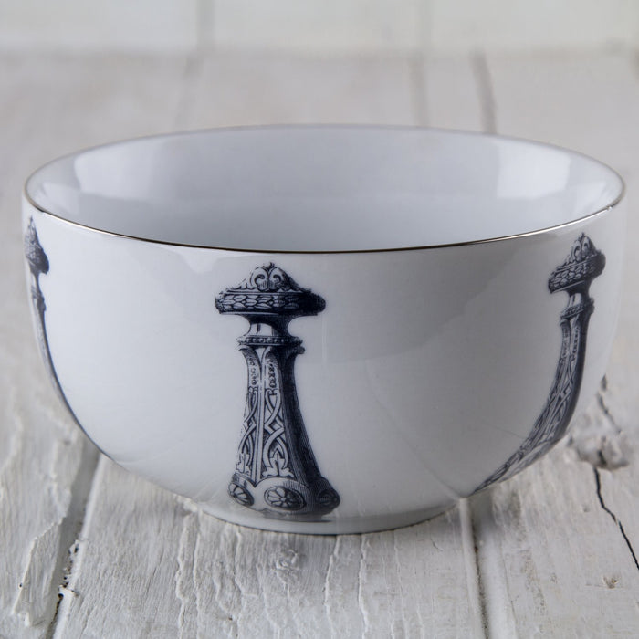 Mitchell Black Royal Dagger Nesting Bowl (SM)
