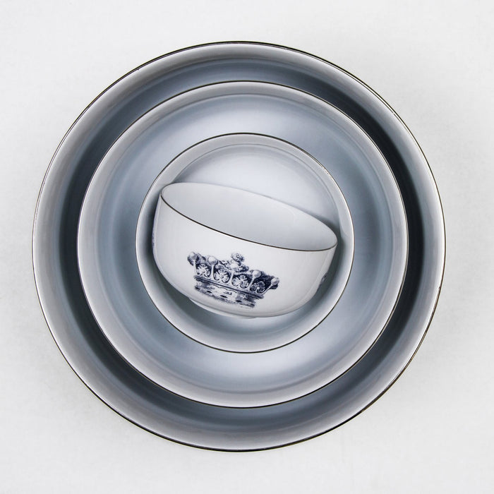 Mitchell Black Royal Hilt Nesting Bowl (L)