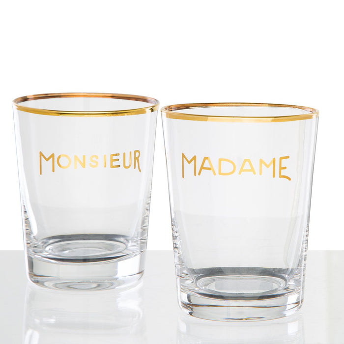 Monsieur Glass Wine Tumbler (10 oz)