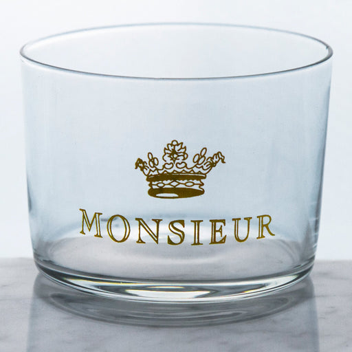 Monsieur Glass Wine Tumbler (6oz)