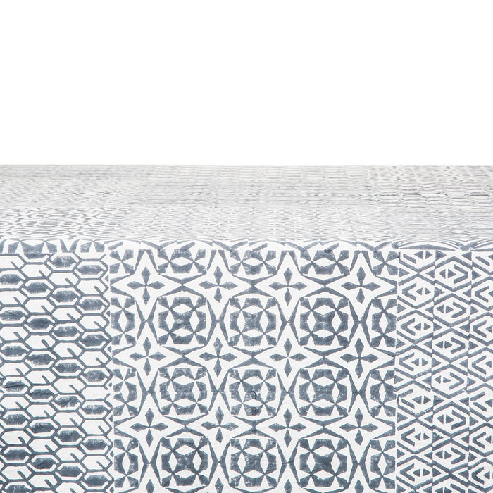 "Moroccan Tiled Tablecloth (106"" x 67"")"