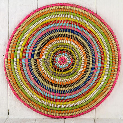 Multi African Woven Placemat