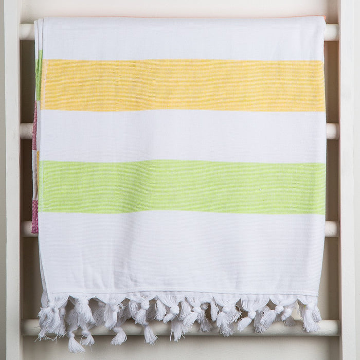 Multi Color Oasis Towel